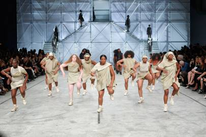 Fashion's dance-off