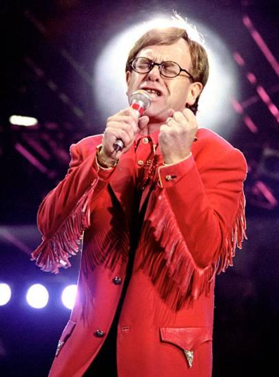 Elton John, Skyline Pigeon