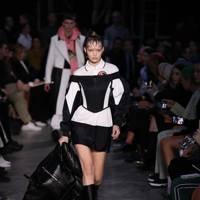 Gigi Hadid made her Burberry catwalk debut
