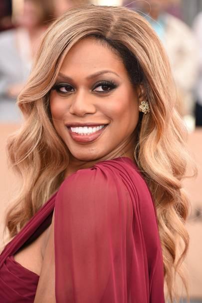 Laverne Cox's Beyoncé Waves