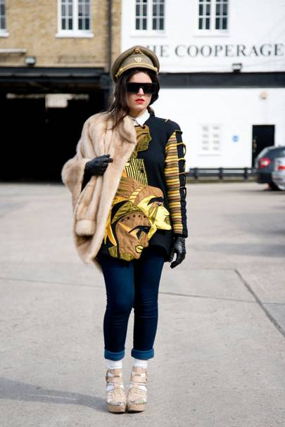 Vanessa Pinto, fashion designer