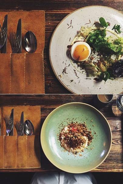 EAT DINNER: At Forest & Marcy or Forest Avenue Restaurant