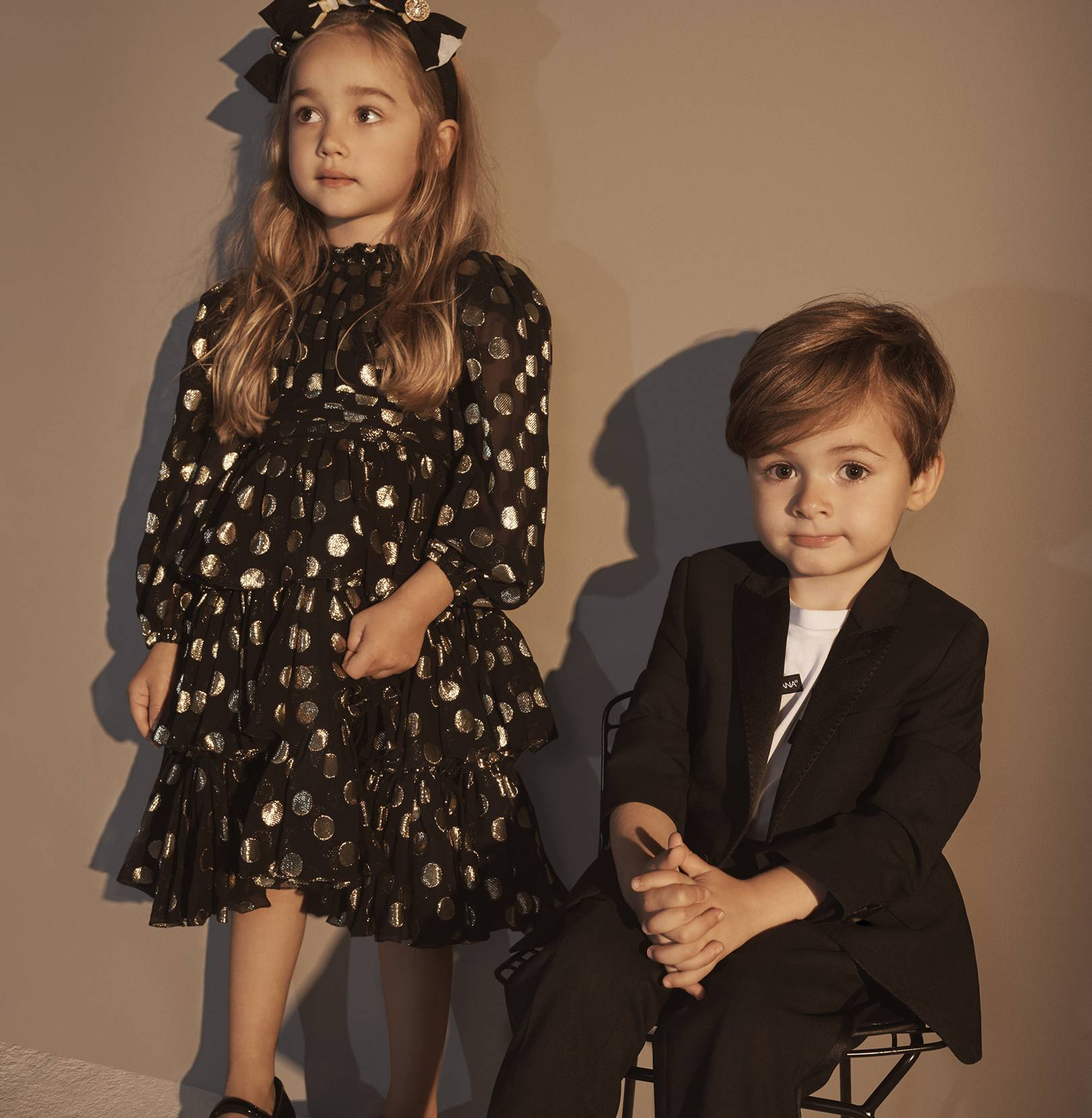 07b1eea43a59 Dolce   Gabbana Launches 56-Piece Kids  Partywear Collection With ...