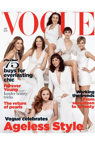 Vogue Cover, July 2007