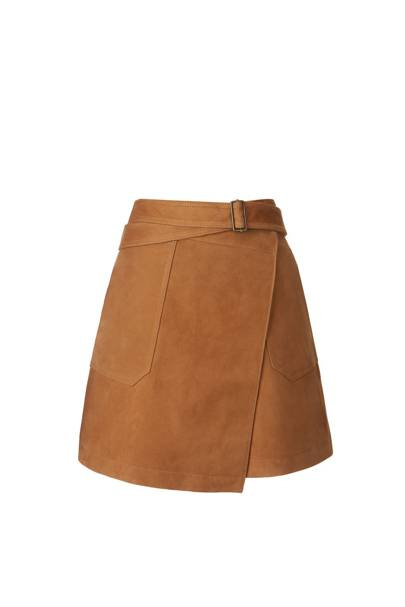 Suede skirt $198