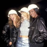 Elle Macpherson, Claudia Schiffer and Naomi Campbell