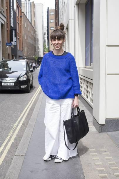 Helen Carney, pattern cutter