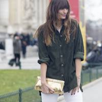 2. Mis-match with utility denim, plaid or military khakis