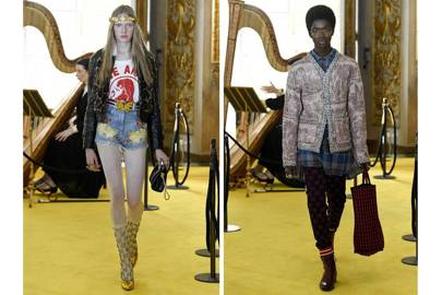 Gucci Cruise 2018 featured looks for men and women