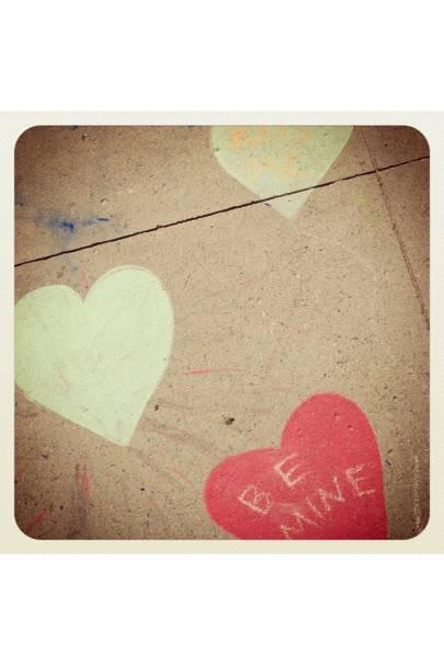 Valentines street art/Venice Beach