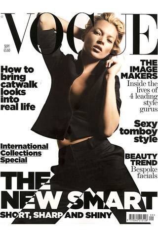 British Vogue, September 2006