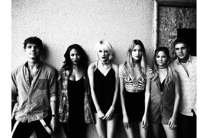 Austin Swift, Kennedy Rayé, Taylor Swift, Martha Hunt, Brittany & Ben LaManna