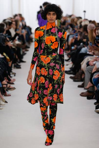 6. Do the neon floral