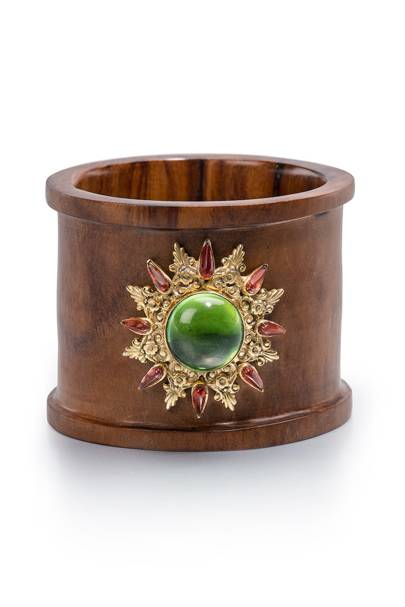 Irga Gold Flower cuff
