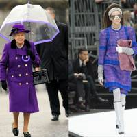 Royal Purple, at Chanel