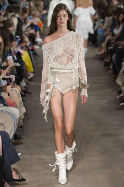 4. Crochet knicker shorts are normal attire