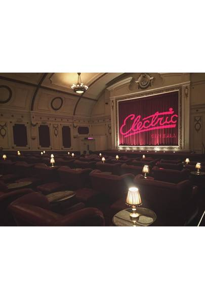 Catch a film at the Electric Cinema
