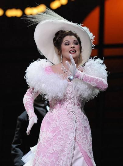 Opera Singer Anna Netrebko