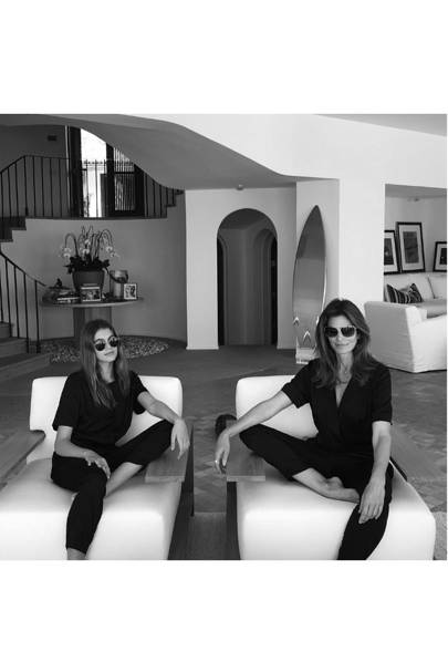 Cindy Crawford and Kaia Gerber
