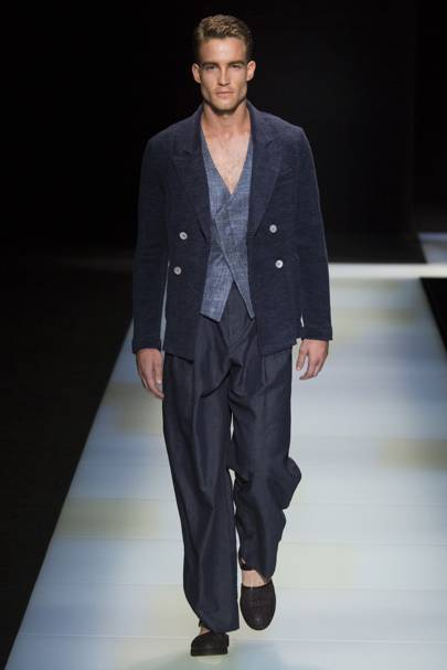 Giorgio Armani Spring Summer 2016 Menswear show report   British Vogue 4d75a9bcc1