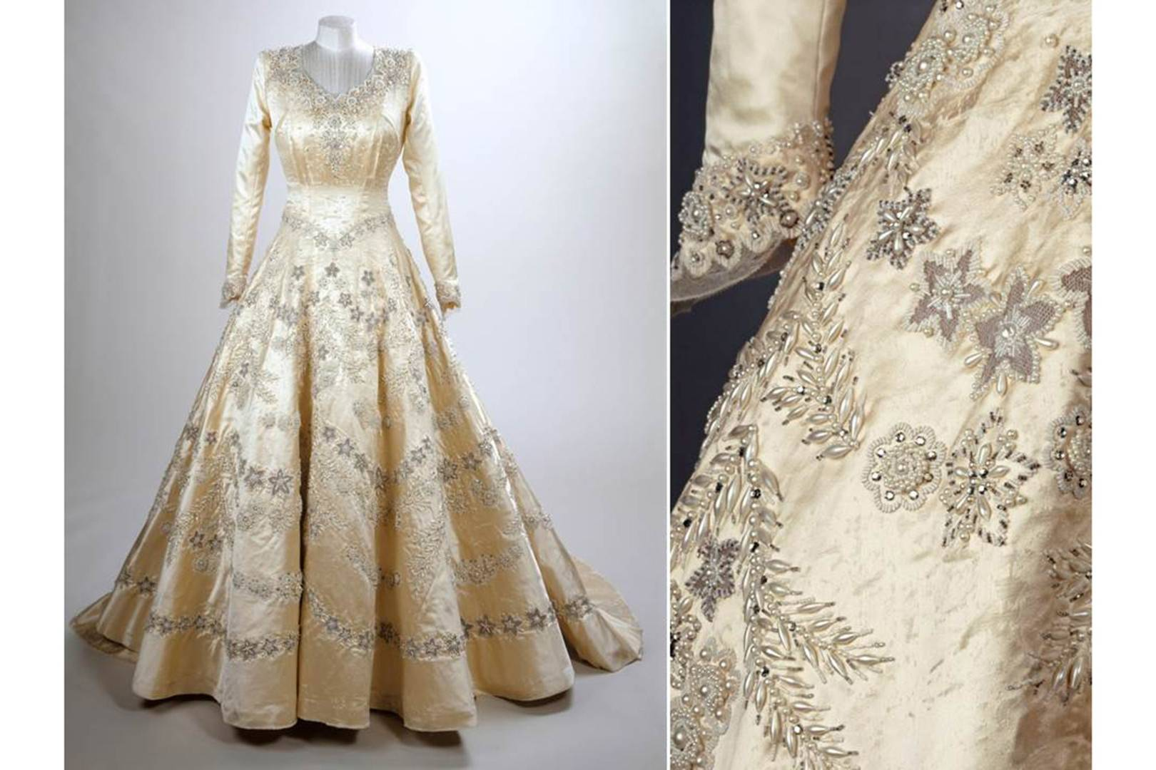 The Queens Wedding Dress Fashion History Costume Trends - satukis.info