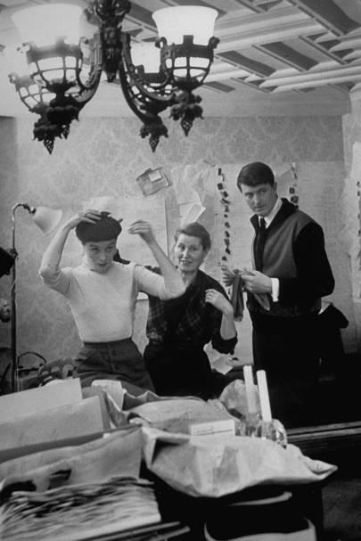 a87a1fb30fd Designer Clare Waight Keller Remembers Hubert De Givenchy | British ...