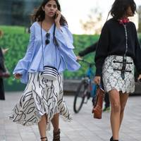 Spied on the street: Feminine volume