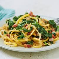 Try freshly spiralized vegetables like courgetti / celeriacetti / instead of your regular spaghetti or noodles
