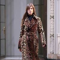 If you're looking for a leopard-print coat, this could be the exemplar your wardrobe needs