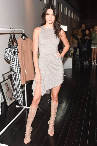 Kendall & Kylie Collection launch event, New York - February 8 2016