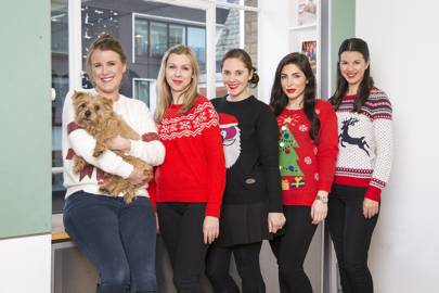 Rosanna Redshaw with Roly, Emily Hawkins, Lianne Baker, Charlotte Farleigh and Nicole Bass