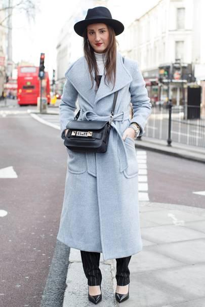 Lauren Luxenberg, works in fashion marketing