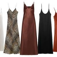 Put Down The Glitter: It's All About The Minimal Slip Dress