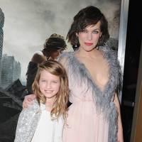 Milla Jovovich & Ever Anderson
