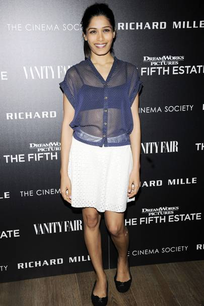 The Fifth Estate screening, New York – October 12 2013