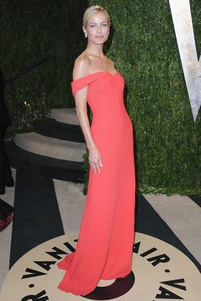 At the Vanity Fair Oscars party in 2013