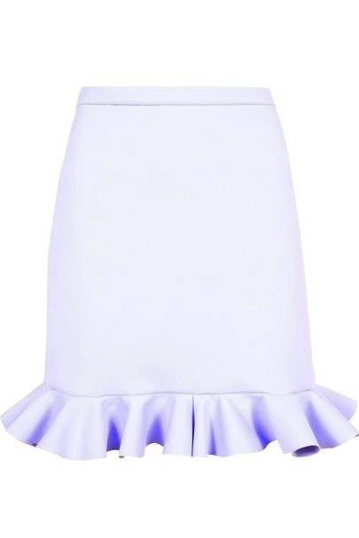White frill skirt, £100