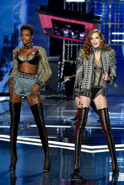 Maria Borges and Alexina Graham