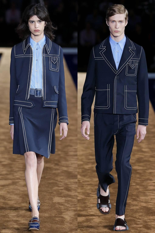 d3a9543b8 Menswear Womenswear trend - unisex dressing   British Vogue