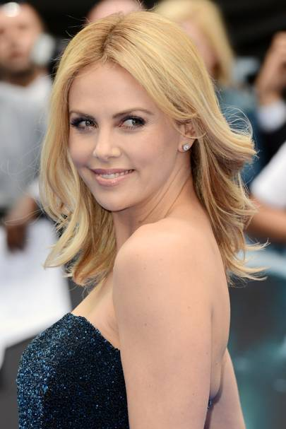 Charlize Theron Red Carpet Hair And Hairstyles British Vogue