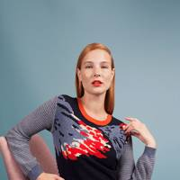 Cashmere intarsia jumper, £475