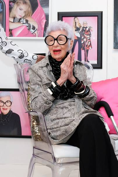 Macy's host Iris Apfel – September 15 2016
