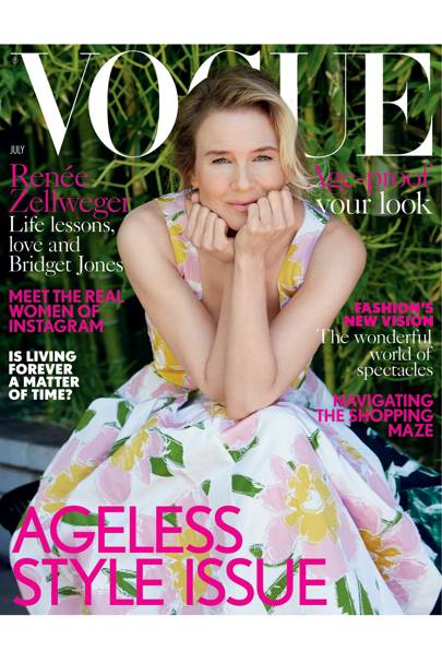 Vogue cover, July 2016