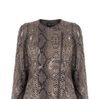 Ossie snake jacket, £149