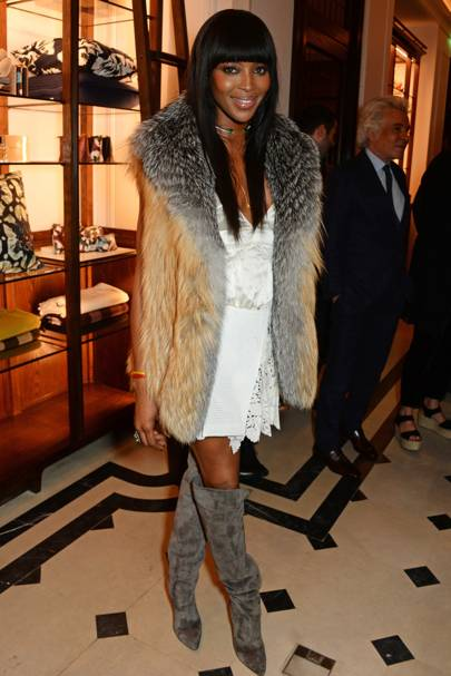 Naomi Book Launch Hosted By Naomi Campbell, Burberry And TASCHEN, London - April 18 2016