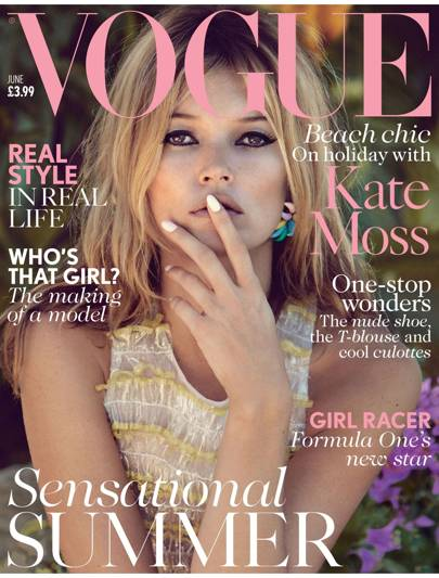Vogue cover, June 2013