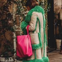 Coloured Sheepskin
